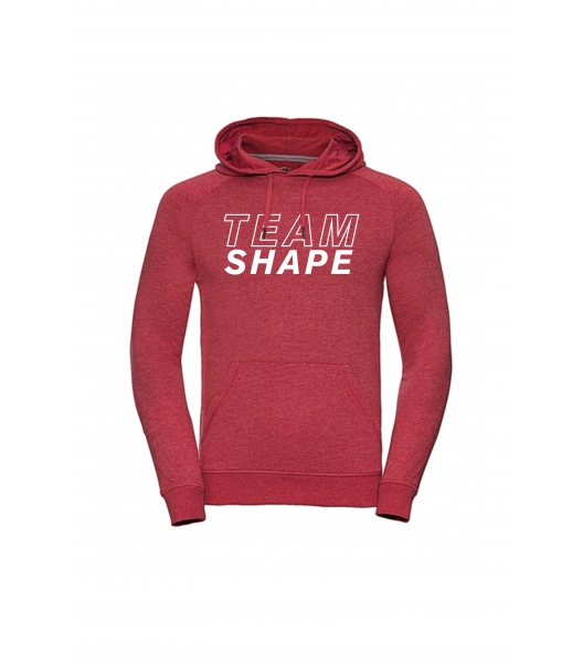 Sweat-shirt Rouge Chiné Femme TeamShape