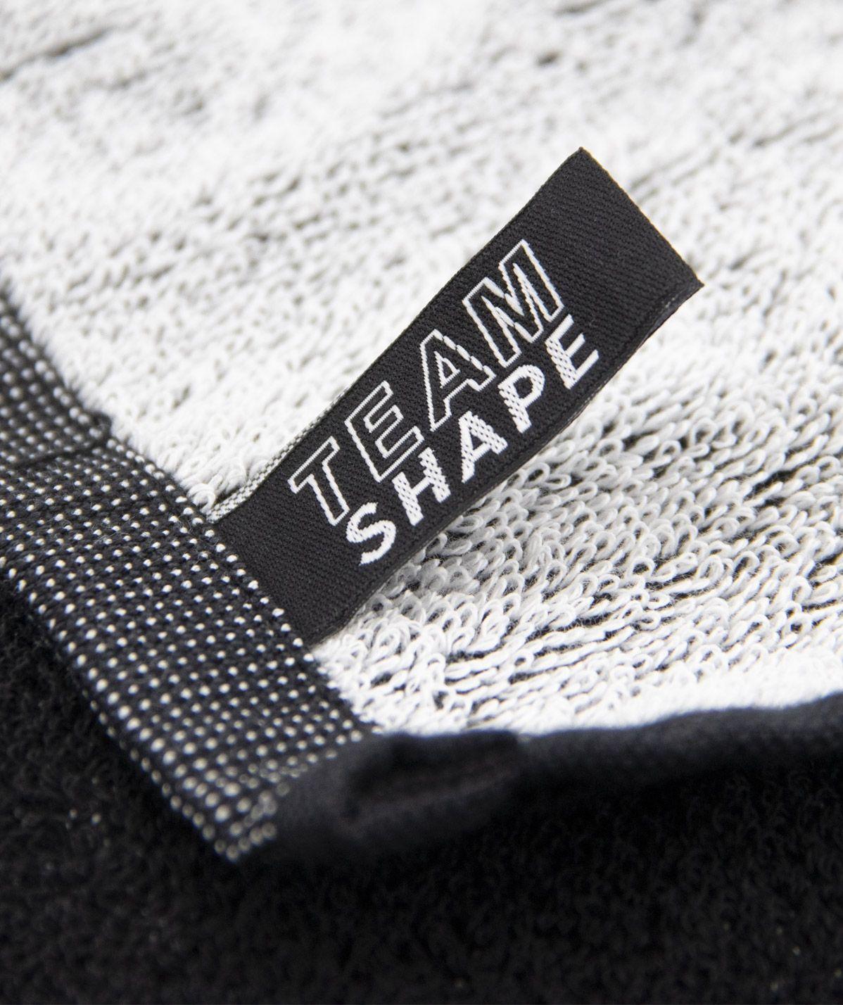 Serviette TeamShape Noire logo Blanc