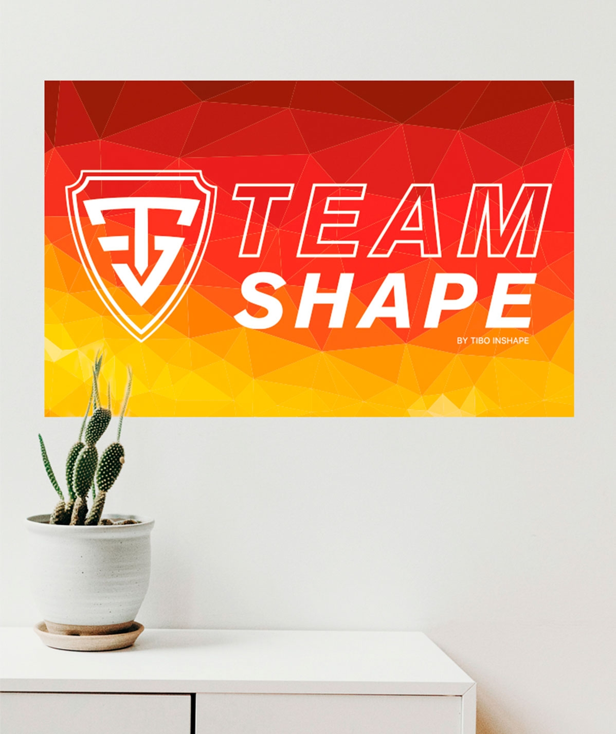 Drapeau Mural TeamShape
