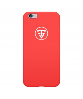 Coque Silicone Rouge TeamShape - Iphone 6