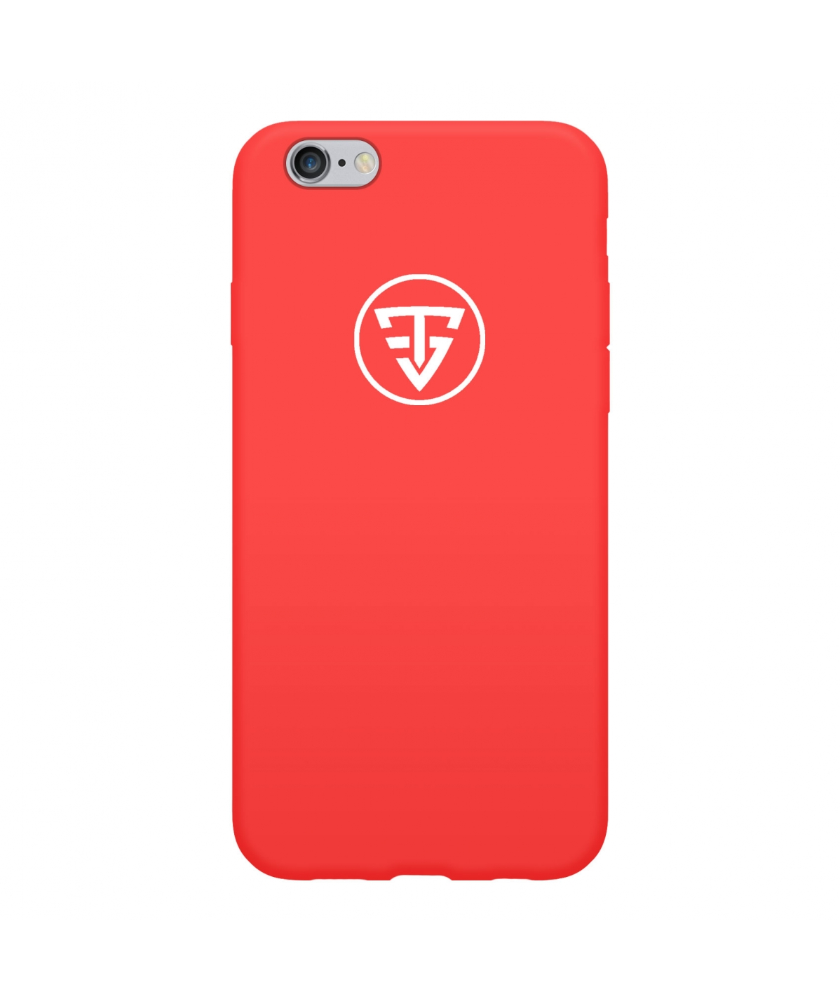 Coque Silicone Rouge TeamShape