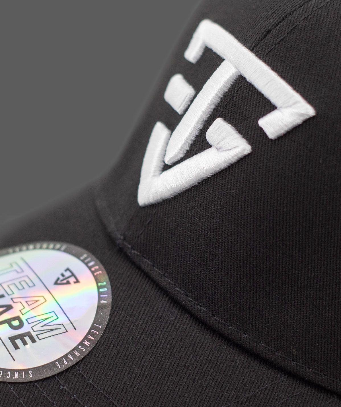 Casquette Noire TeamShape