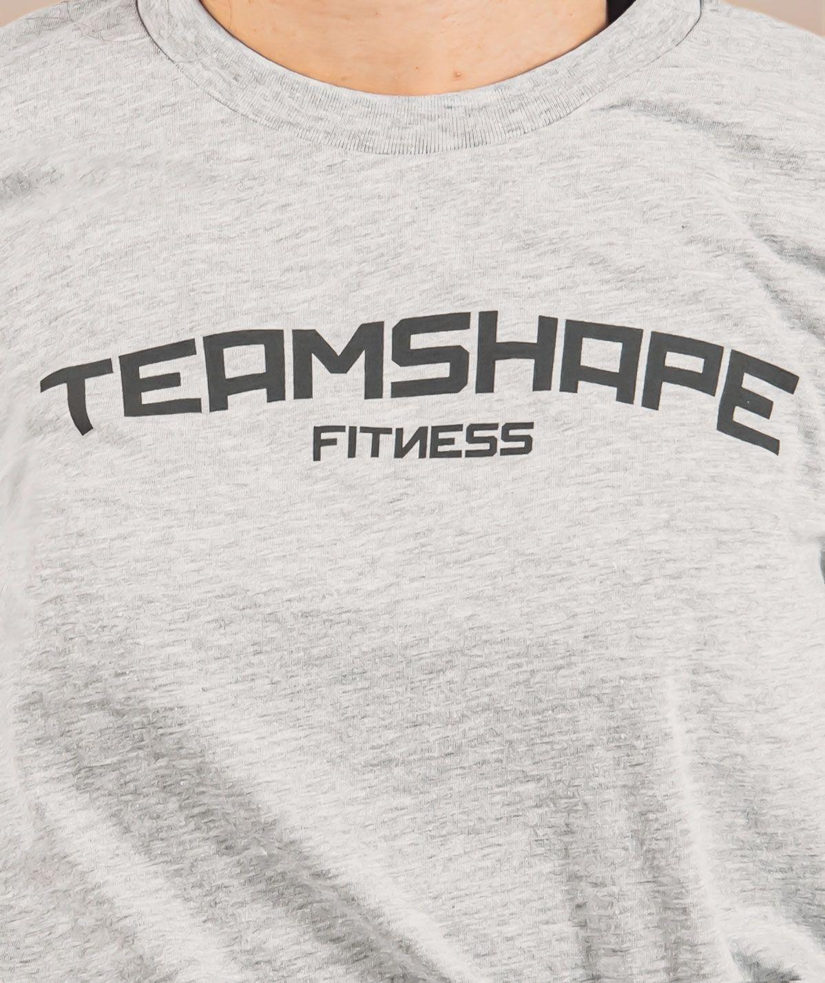 T-Shirt Femme Gris Fitness