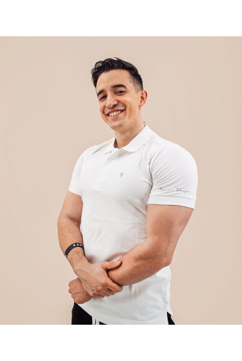 Polo Blanc TeamShape