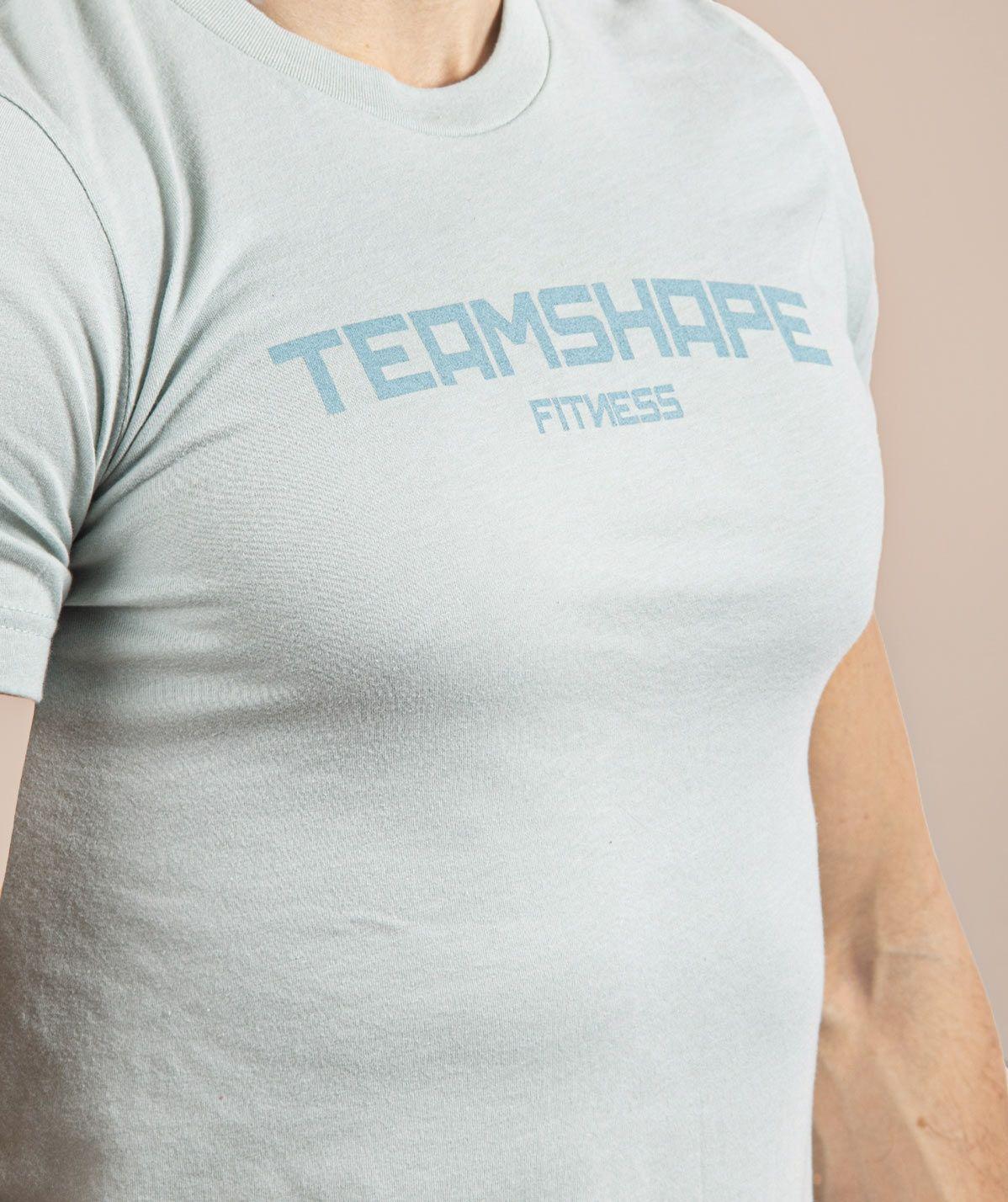 T-Shirt Homme Bleu Clair Fitness
