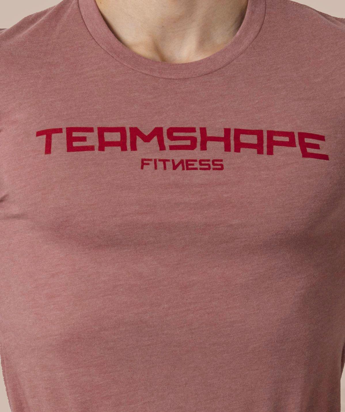 T-Shirt Homme bordeaux Fitness