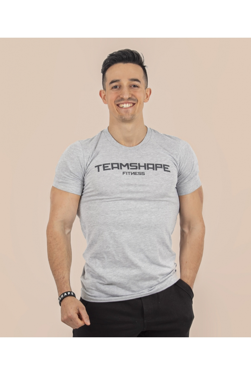 T-Shirt Homme Gris Fitness