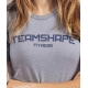 T-Shirt Femme Bleu Lavande Fitness