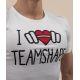 T-shirt Bio I Love TeamShape Homme