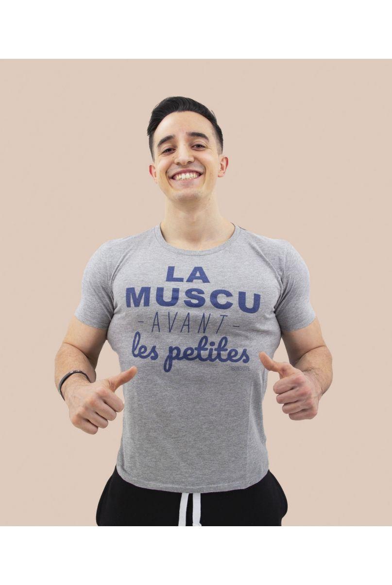 T-Shirt la muscu avant les petites
