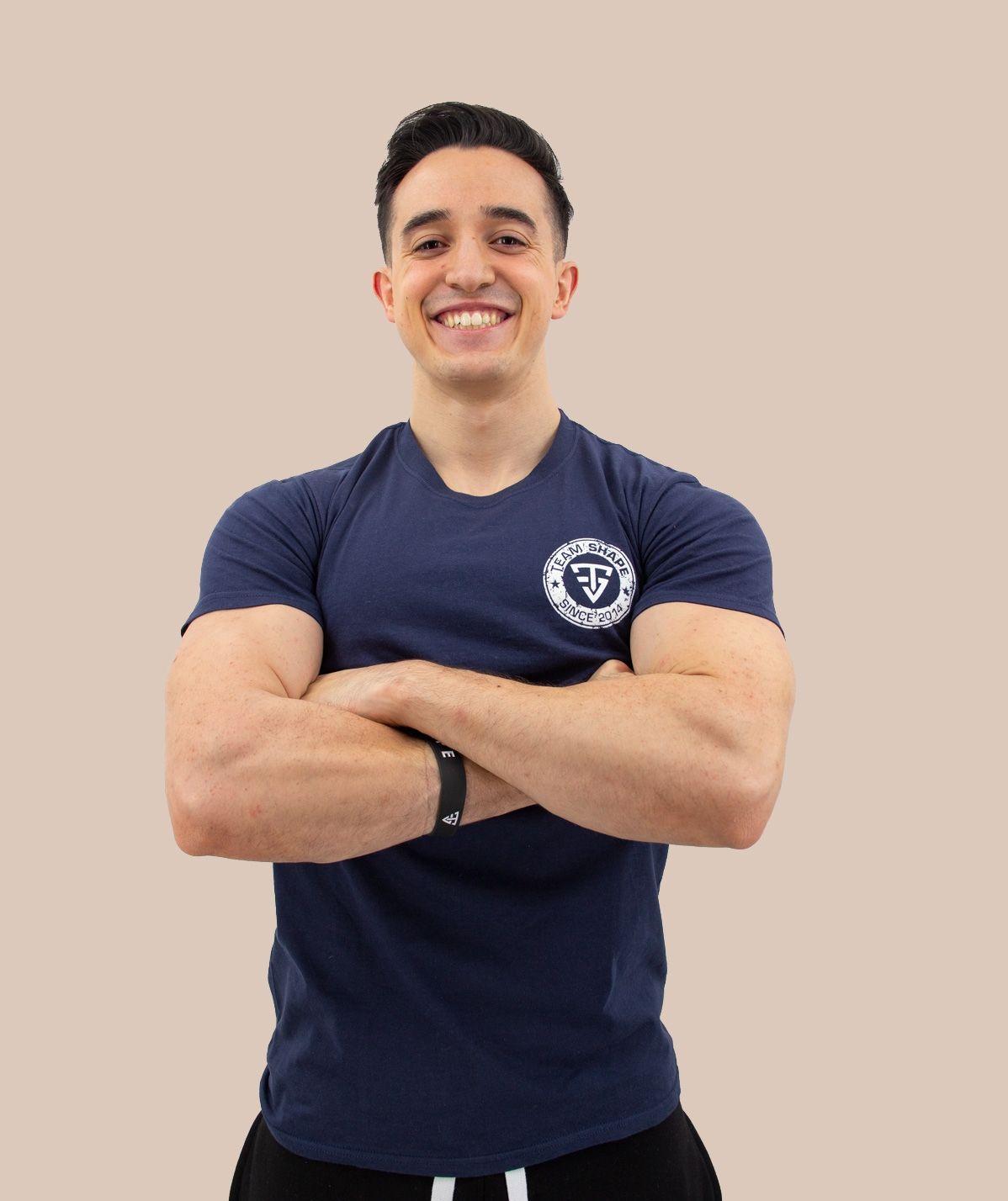 T-Shirt Bleu TeamShape
