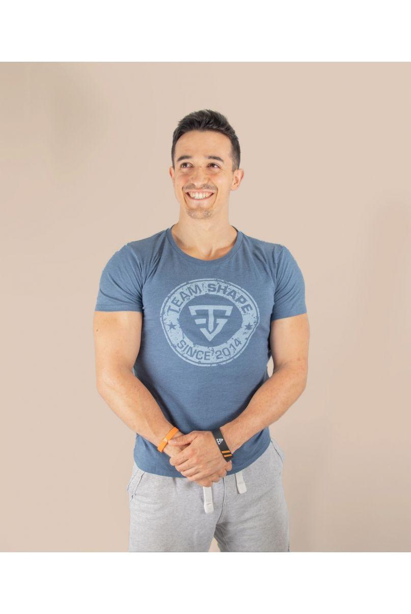T-Shirt officiel bleu denim