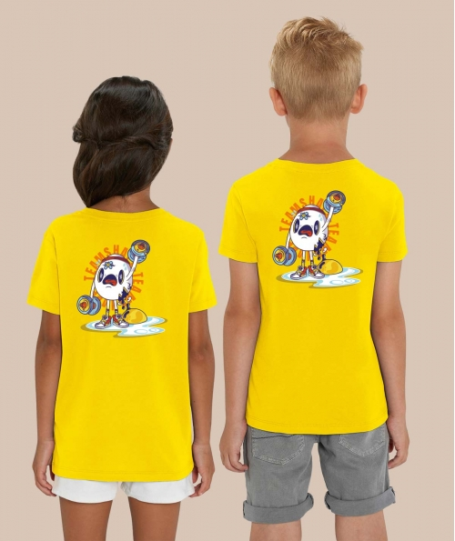 T-shirt Collector Crâne d'oeuf
