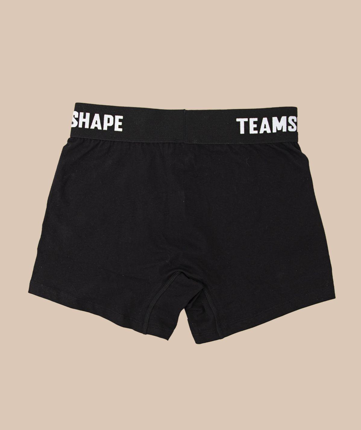 Pack de 3 Boxers Noir TeamShape