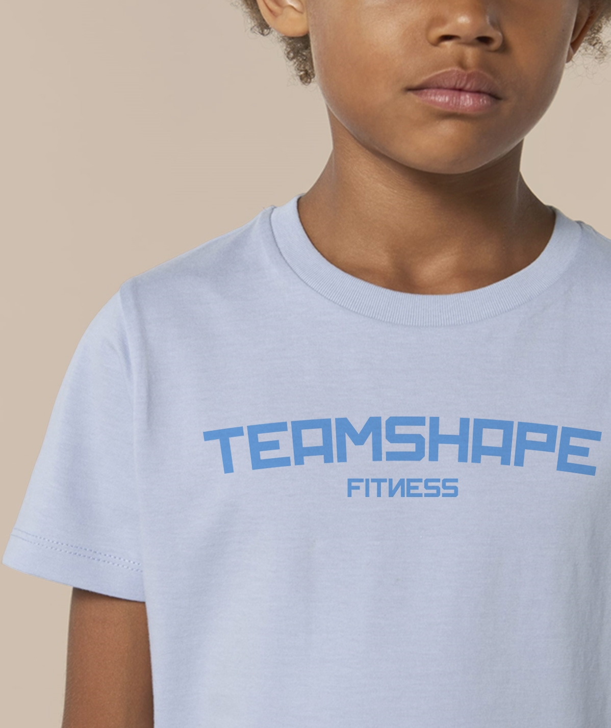 T-shirt Enfant Fitness - Bleu