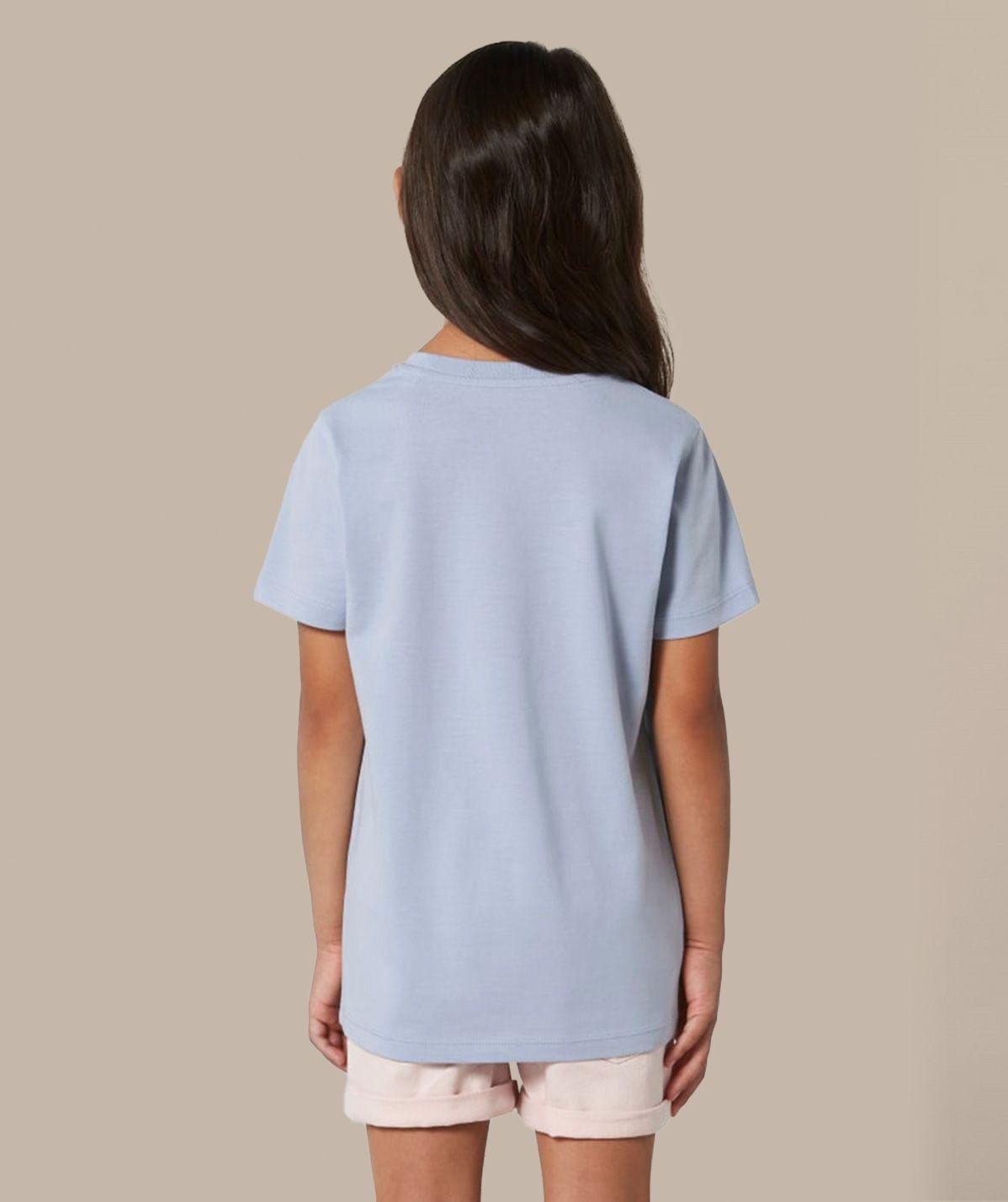 T-shirt Fille Fitness - Bleu
