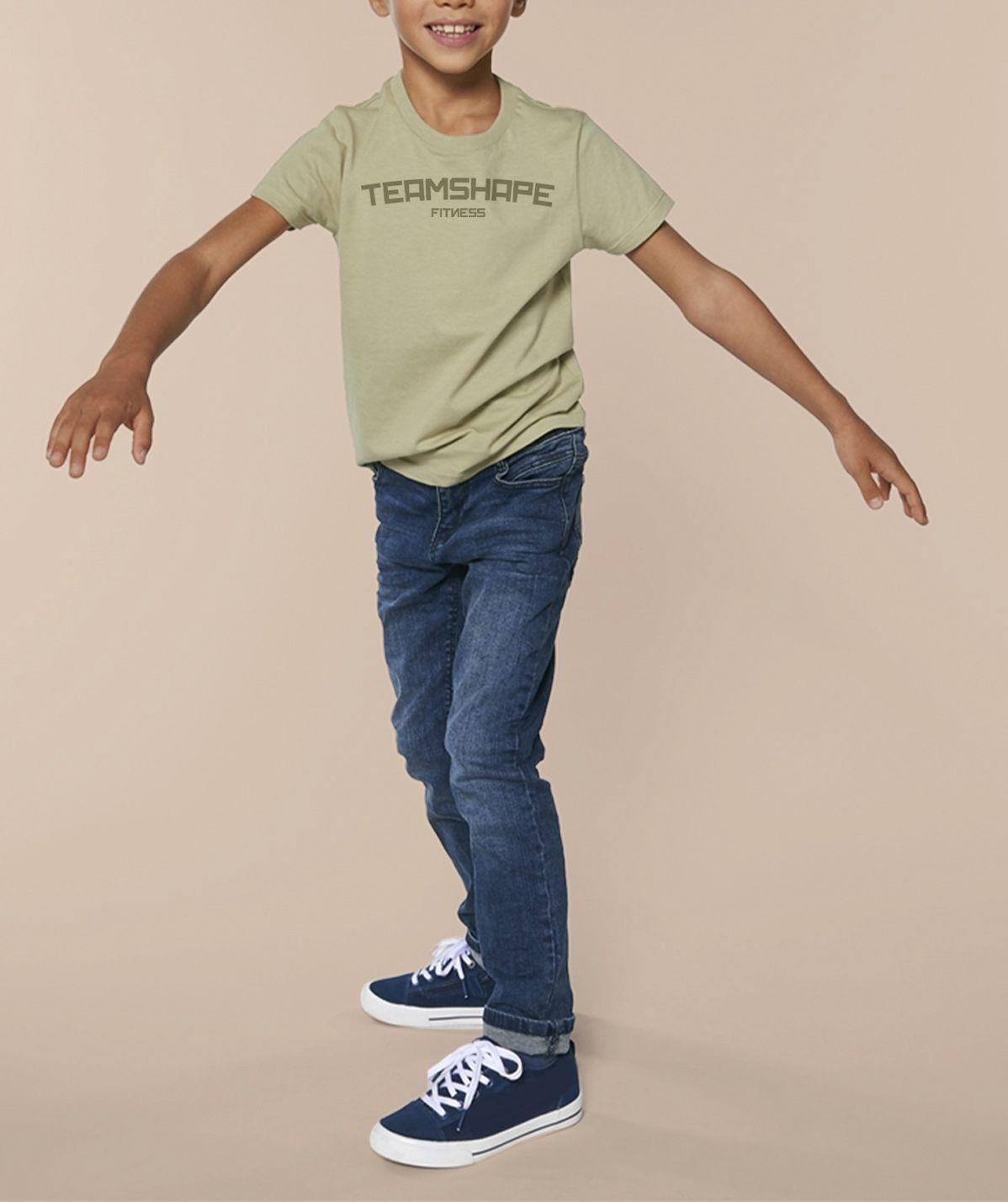 T-shirt Garcon Fitness - Stone