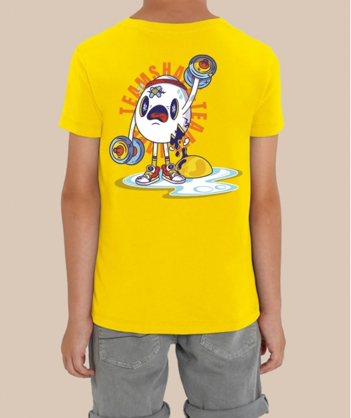 T-shirt Garcon Collector Crâne d'oeuf