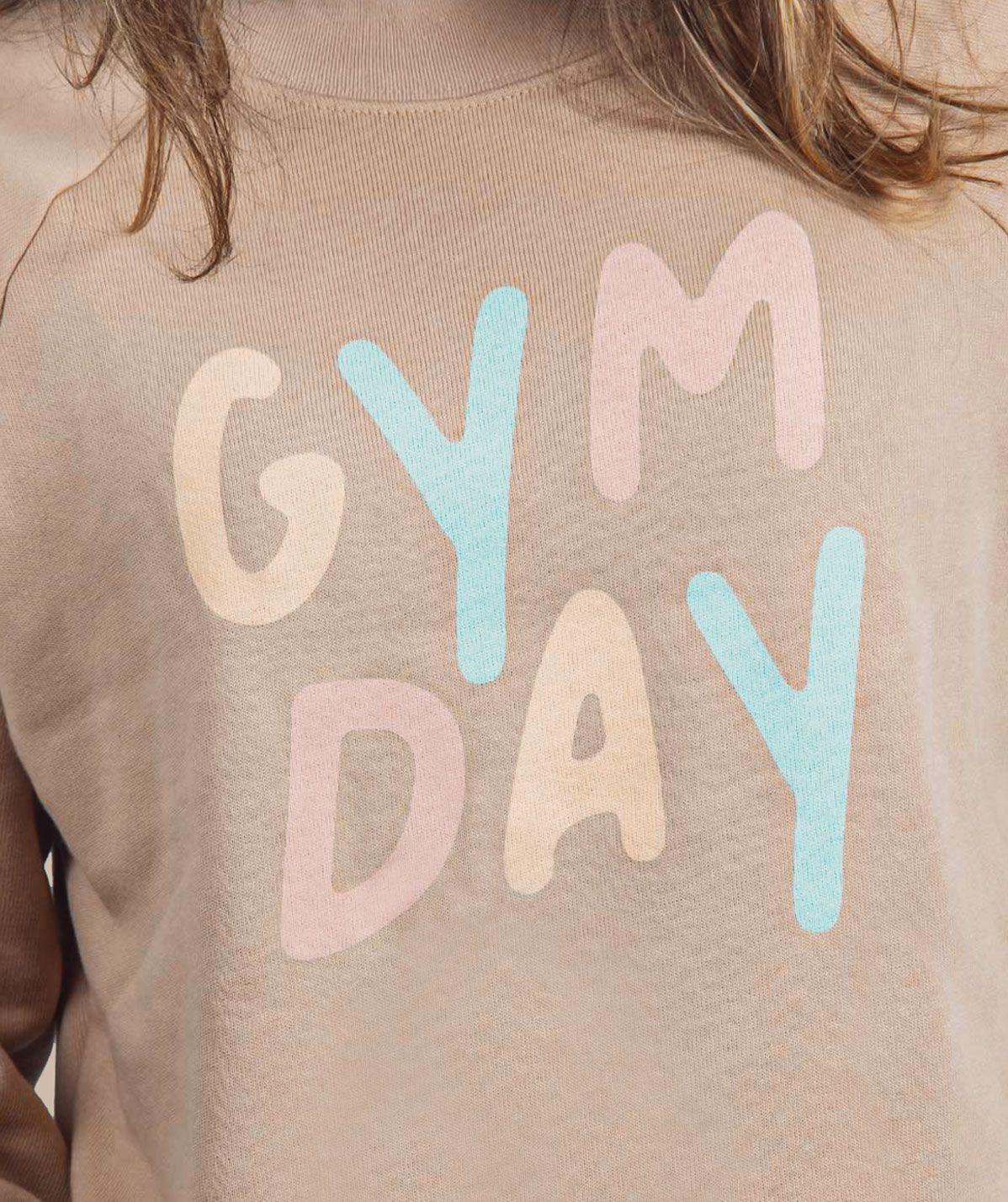 Pull Gymday Beige