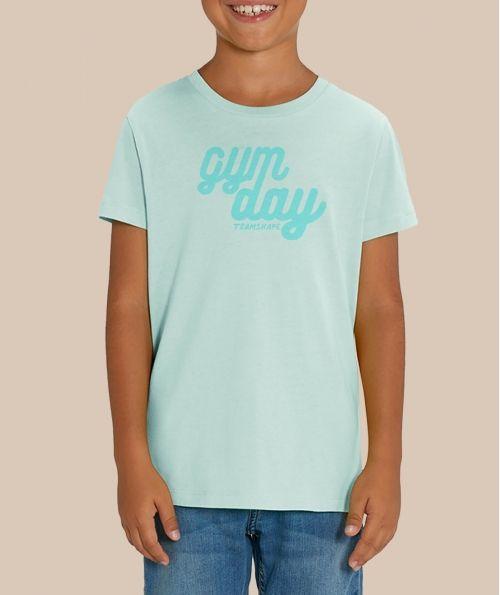 T-shirt Gymday - Bleu Caraïbe