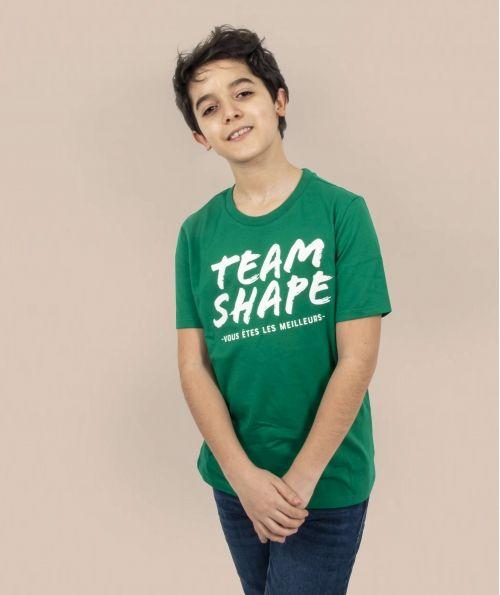 T-Shirt Bio enfant Vert vous êtes les meilleurs
