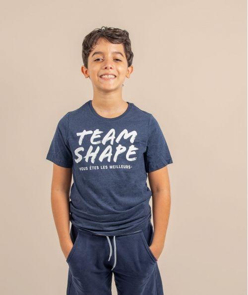 T-Shirt Bio enfant Navy vous êtes les meilleurs