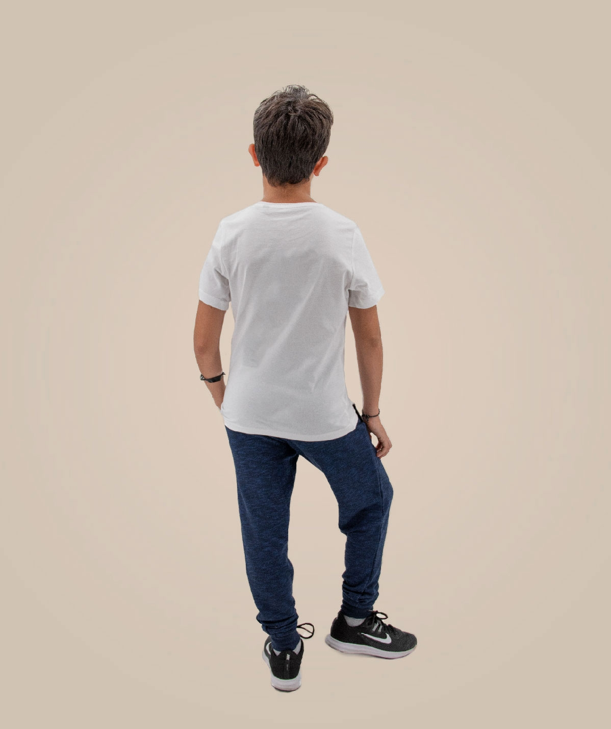 T-shirt Bio enfant blanc Teamshape le Temple