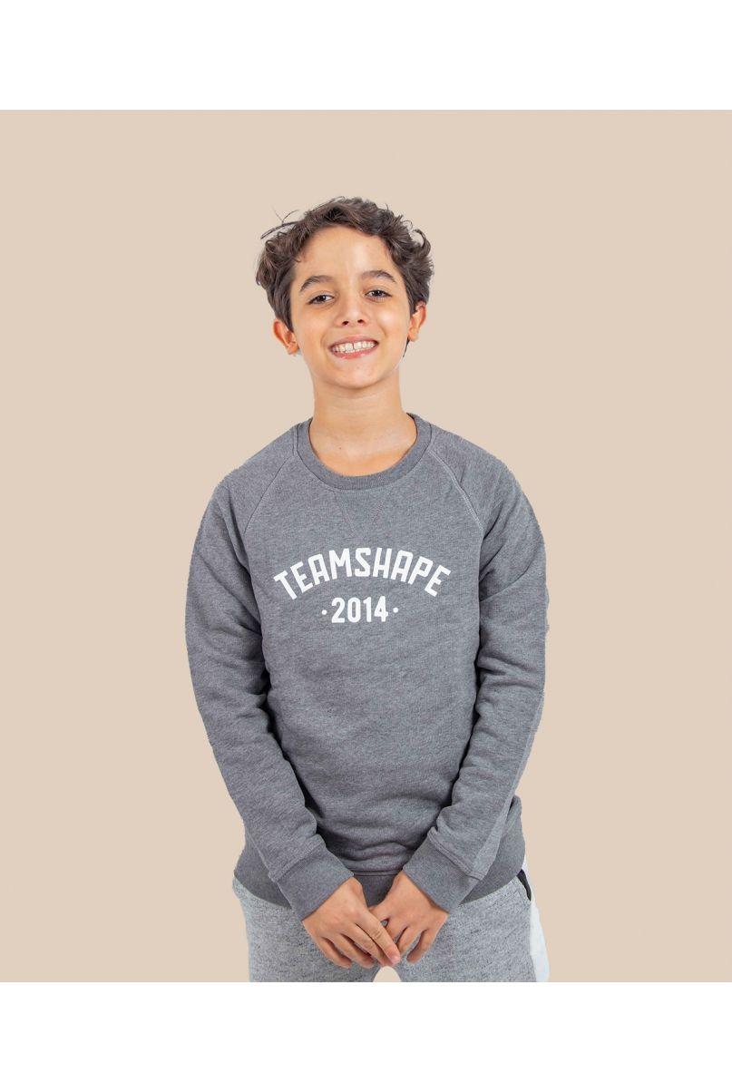 Sweat-Shirt Bio Enfant gris