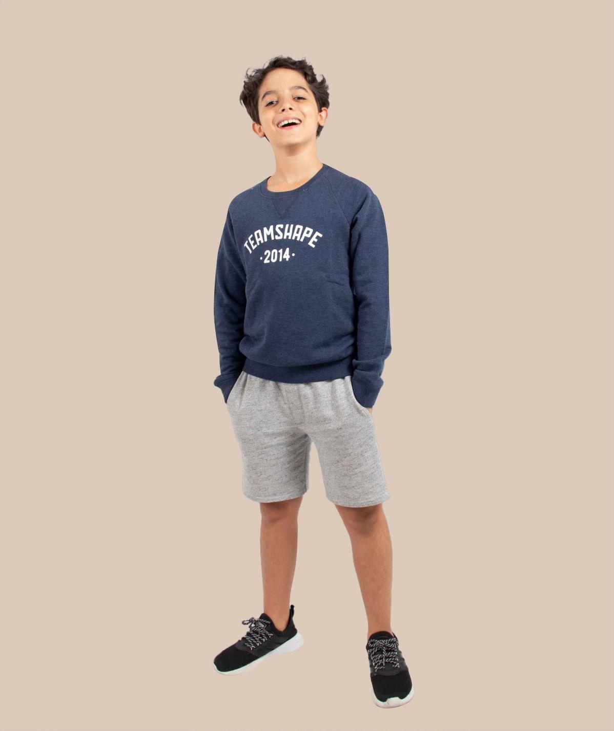 Sweat-Shirt Bio enfant Bleu Navy