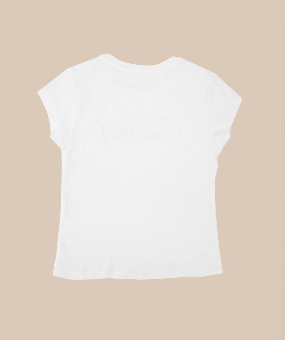 T-shirt Blanc Petite InShape