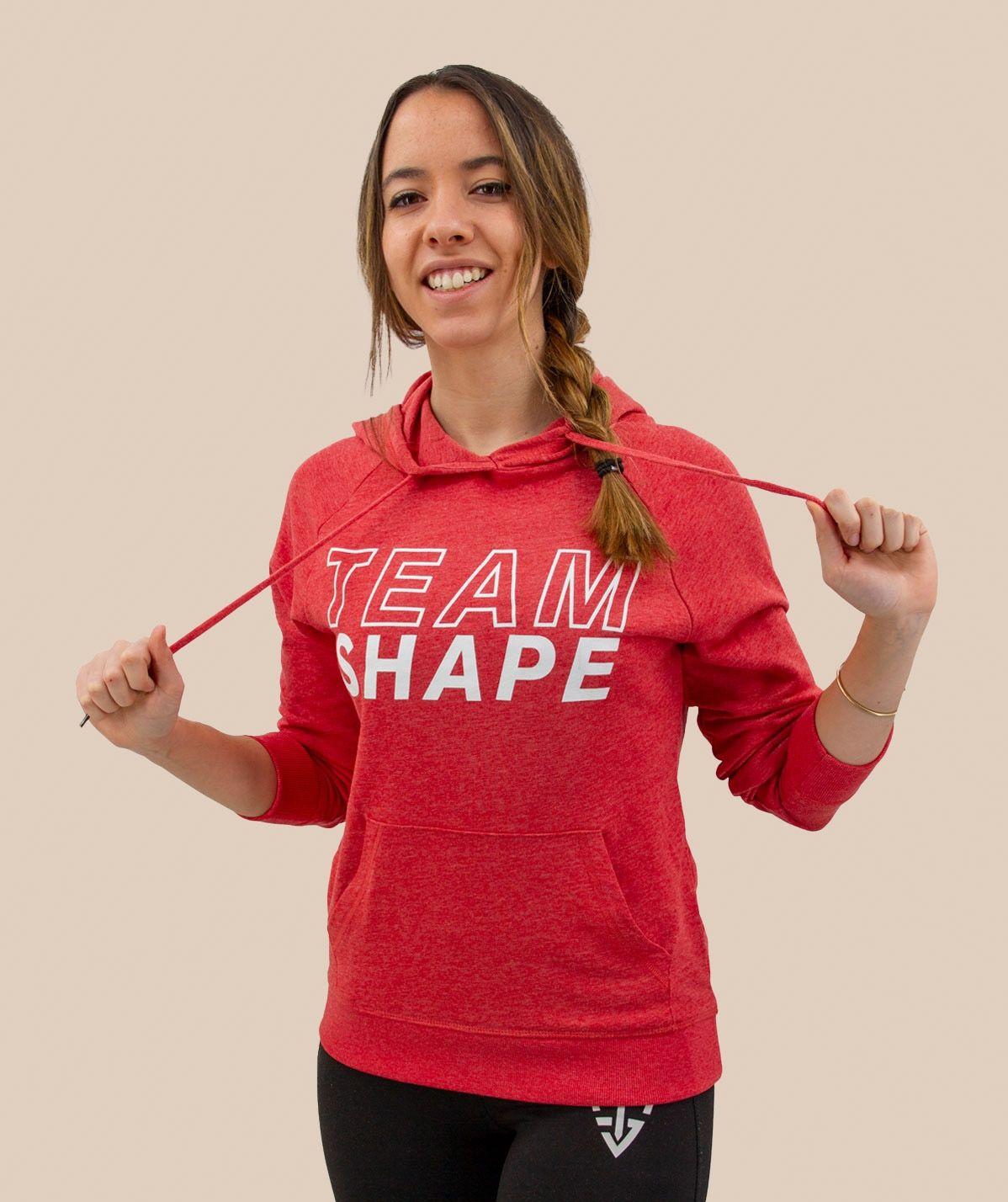Sweat-Shirt femme Rouge Chiné