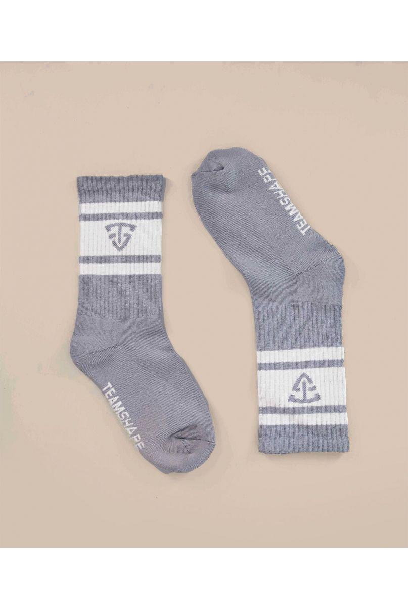 Chaussettes grises mixtes TeamShape