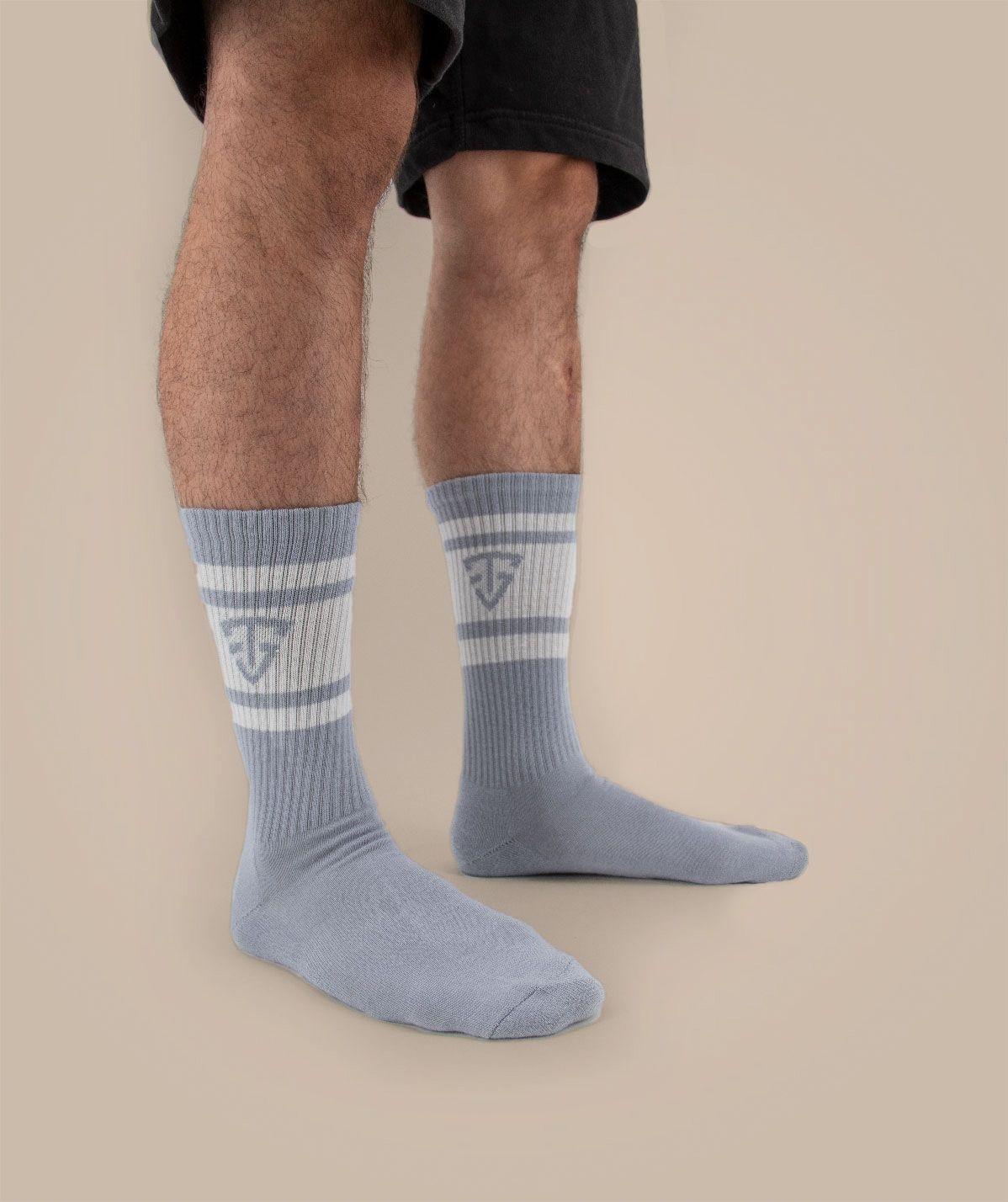 Chaussettes grises TeamShape