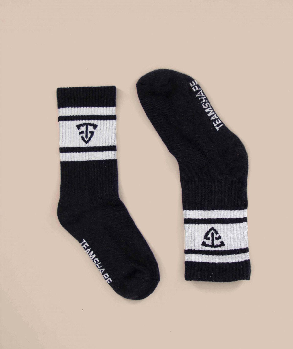 Chaussettes noires TeamShape