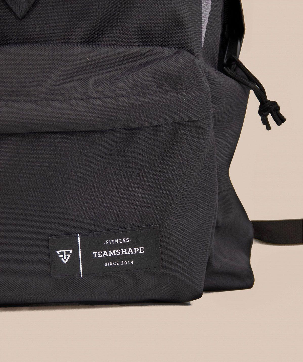 Sac à dos TeamShape Noir logo 3D