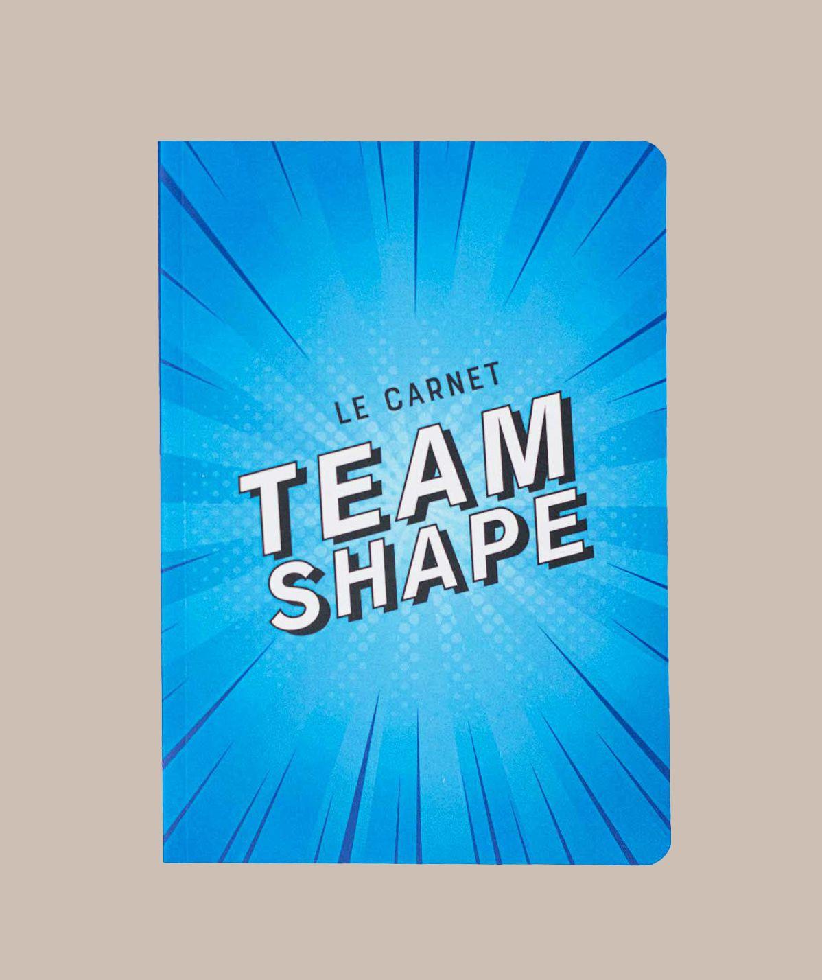 Carnet Bleu TeamShape