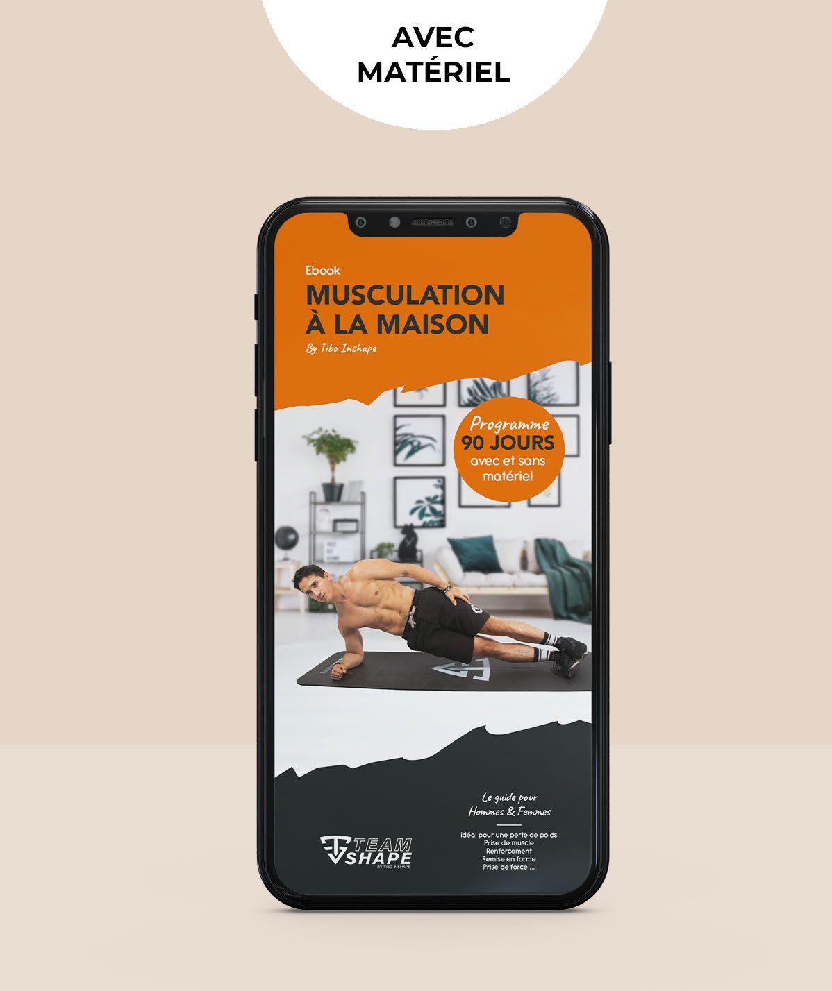 Programme Musculation à la maison avec matériel - Ebook