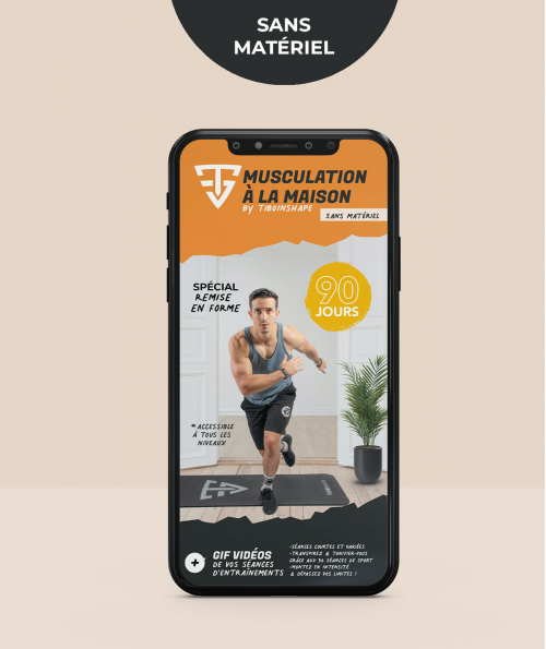 Programme Musculation Maison sans Matériel - Ebook