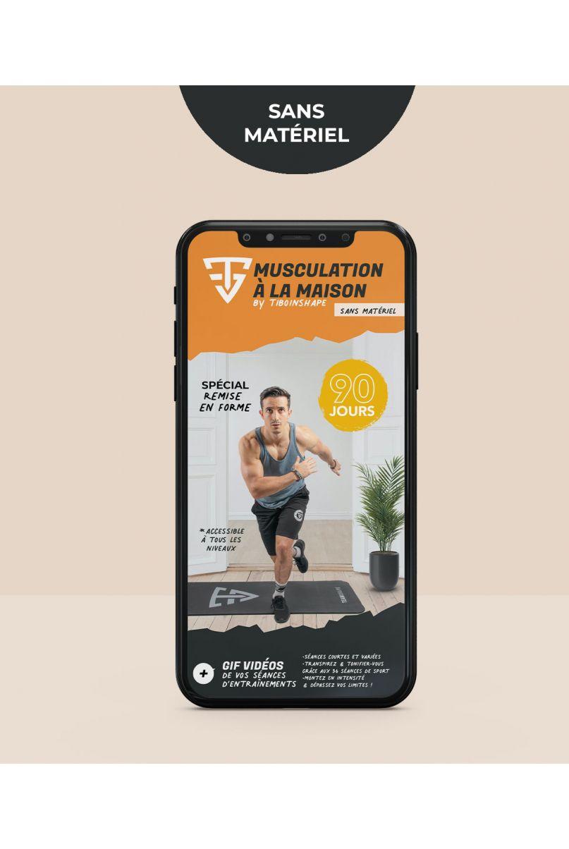 Programme Musculation à la maison sans matériel - Ebook