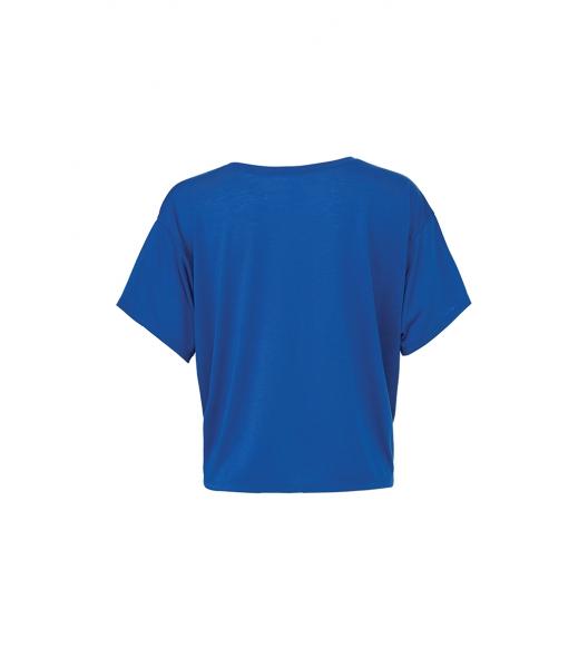 T-Shirt Femme Bleu Fluide TeamShape