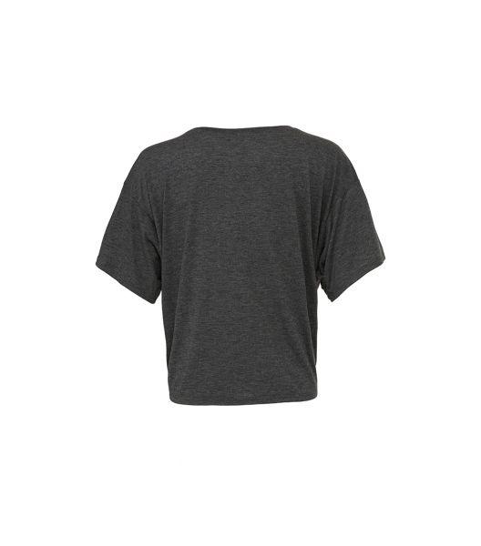 T-Shirt Femme Gris foncé Fluide TeamShape