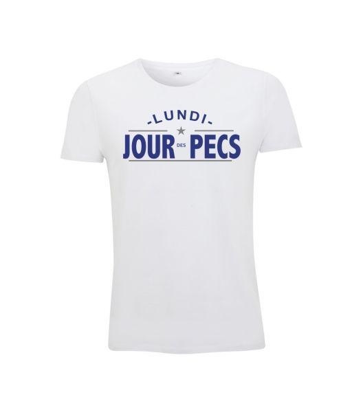 T-Shirt Blanc Jour des Pecs