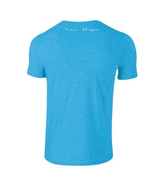 T-Shirt Tropical Blue Heather col V