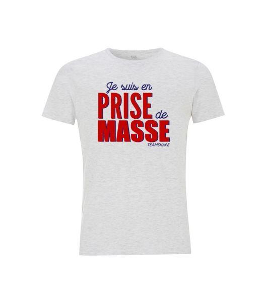 T-Shirt Homme prise de masse
